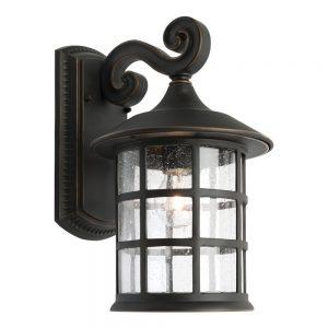 HAMPTON STYLE OUTDOOR LIGHTING - COVENTRY EXTERIOR BRONZE LARGE