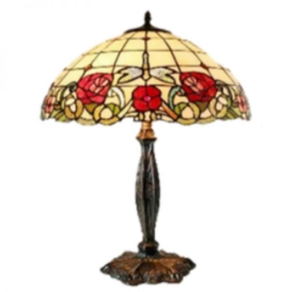 TIFFANY LOOKING - ARMADEUS LARGE TABLE LAMPS