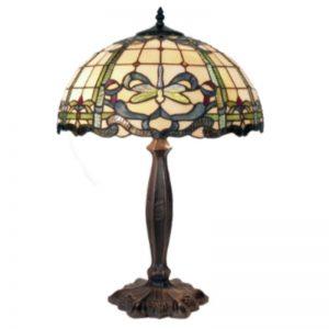 G & G Bros Aurora Tiffany Table Lamp