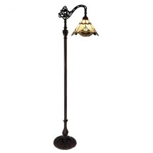 G & G Bros Benita Edwardian Floor Lamp Beige