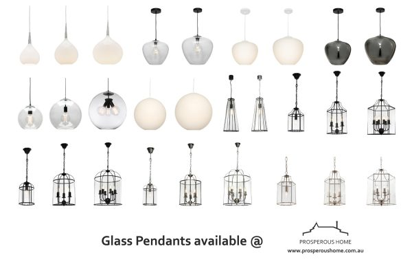 Glass Pendant Lights Australia